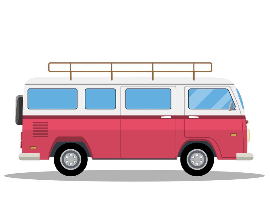 Van clipart free for kids