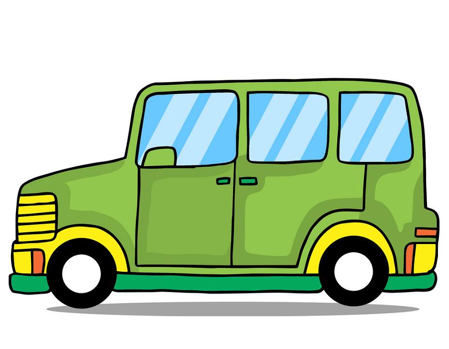 Van clipart png for kid