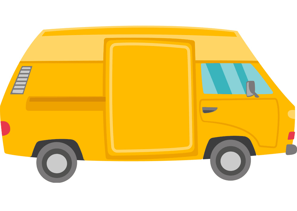 Van clipart png for kids