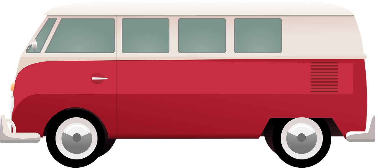 Van clipart transparent background 6