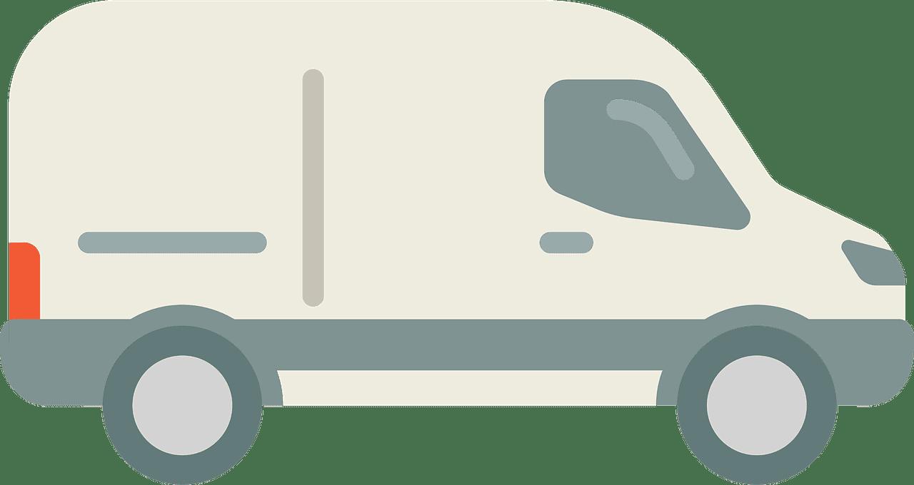 Van clipart transparent for kids