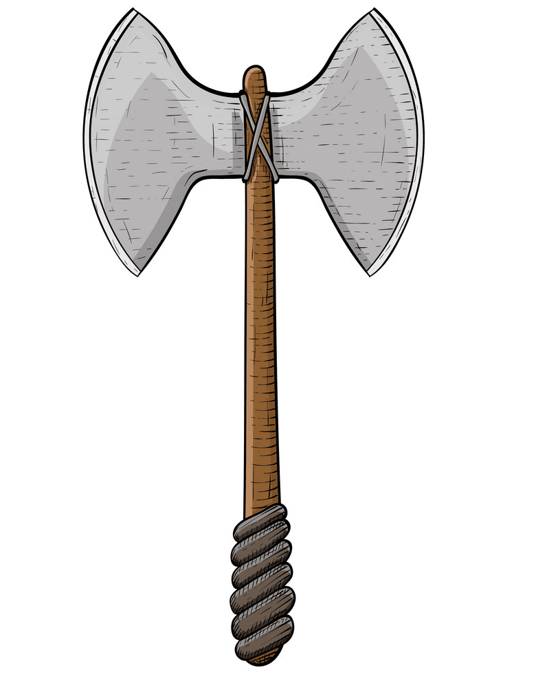 Viking Axe clipart image