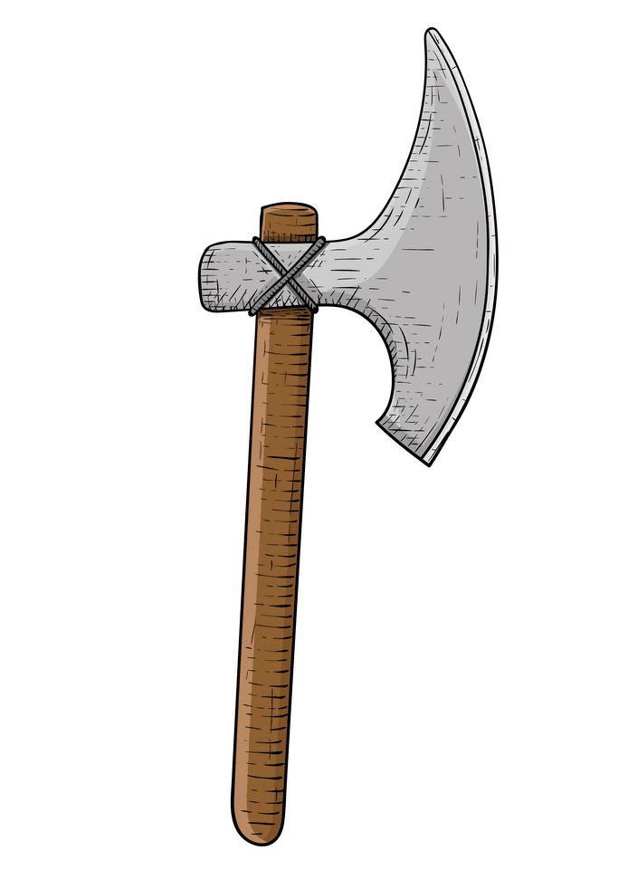 Viking Axe clipart images