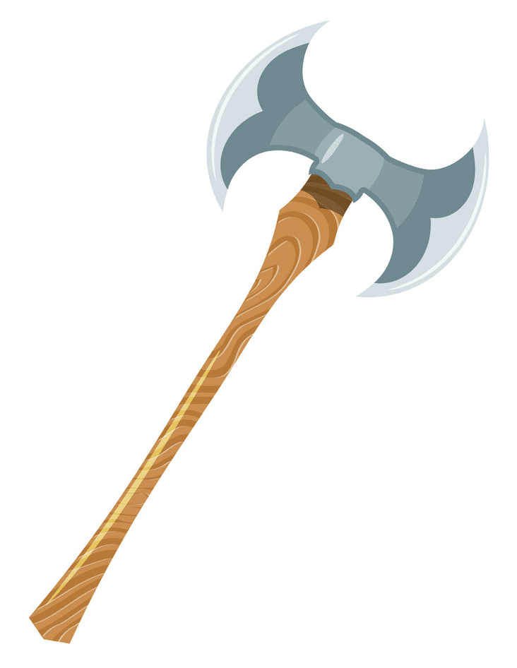 Viking Axe clipart png