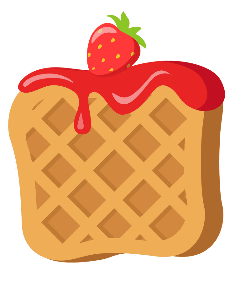 Waffle clipart download