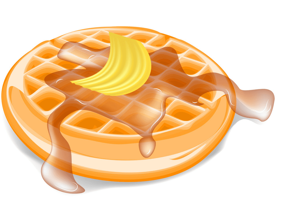 Waffle clipart for free