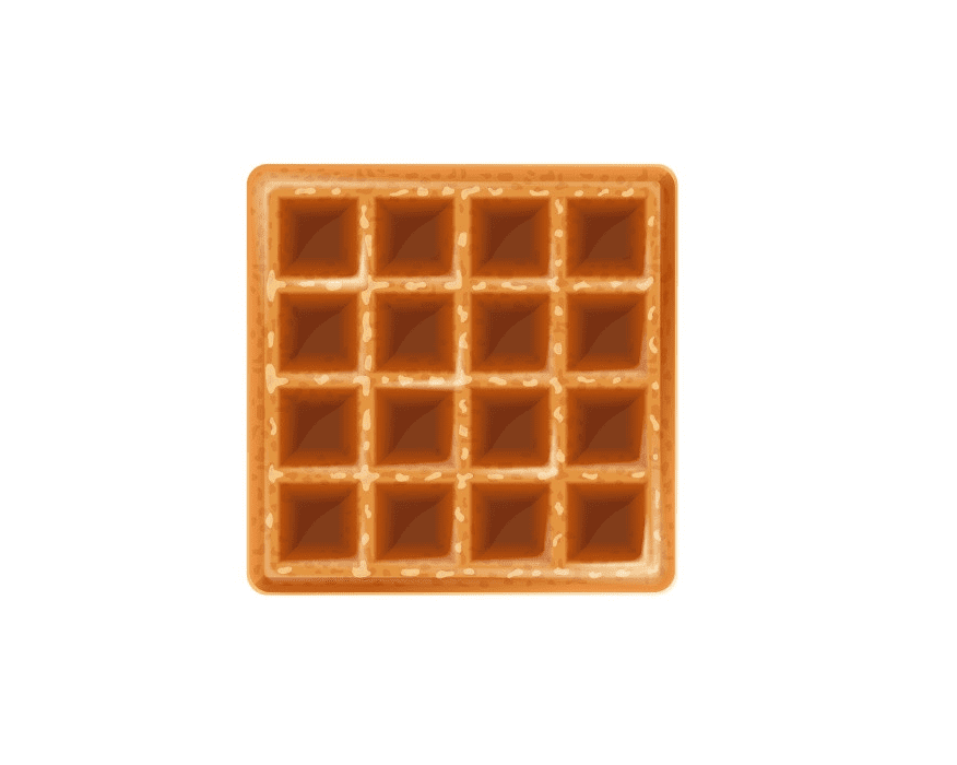 Waffle clipart for kids