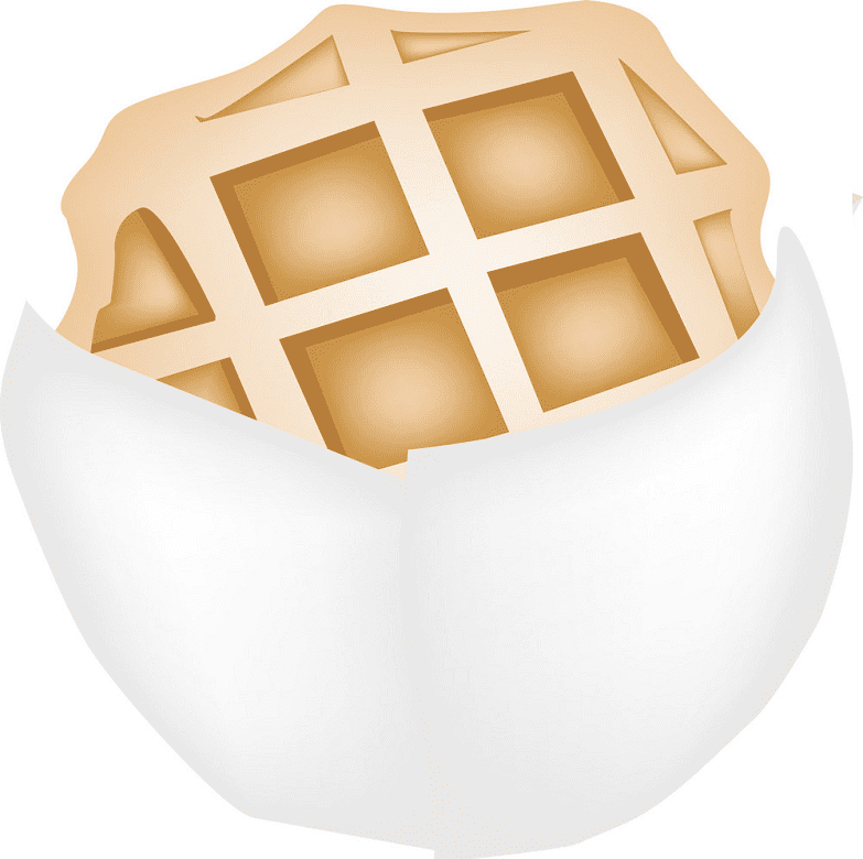 Waffle clipart free images