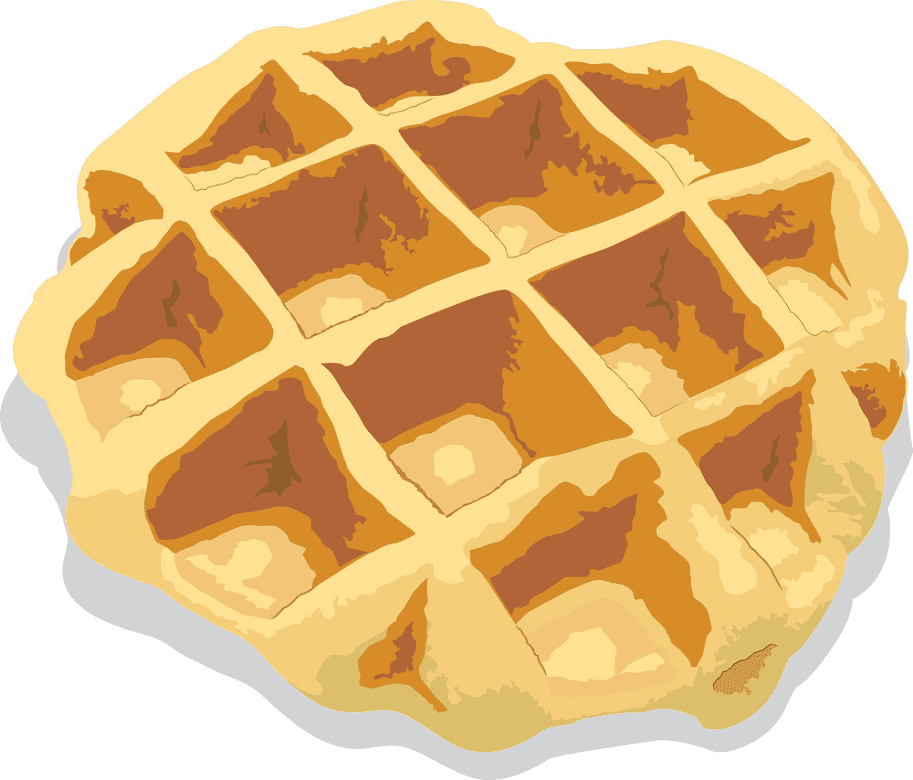 Waffle clipart free