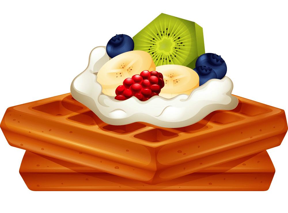 Waffle clipart image