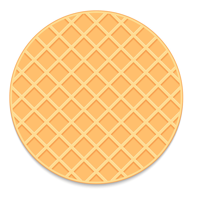 Waffle clipart png download