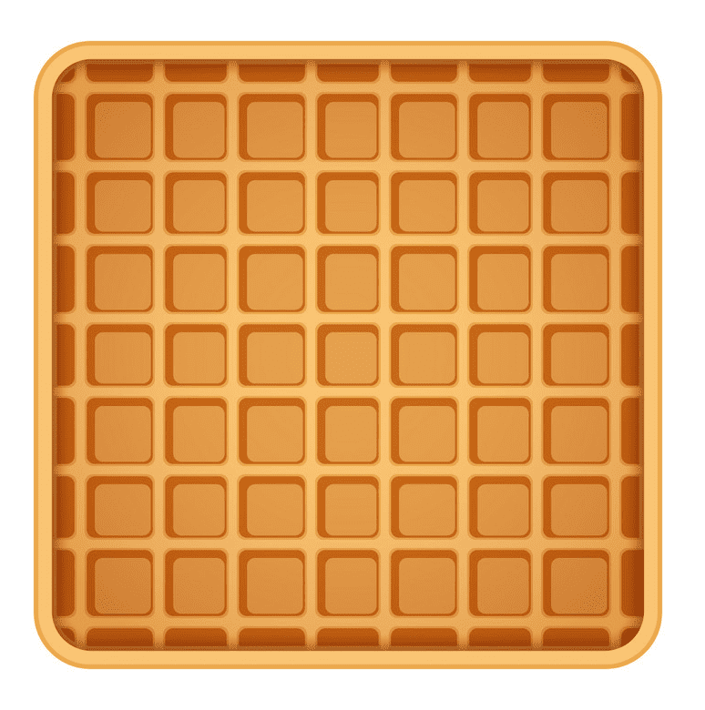 Waffle clipart png for kid