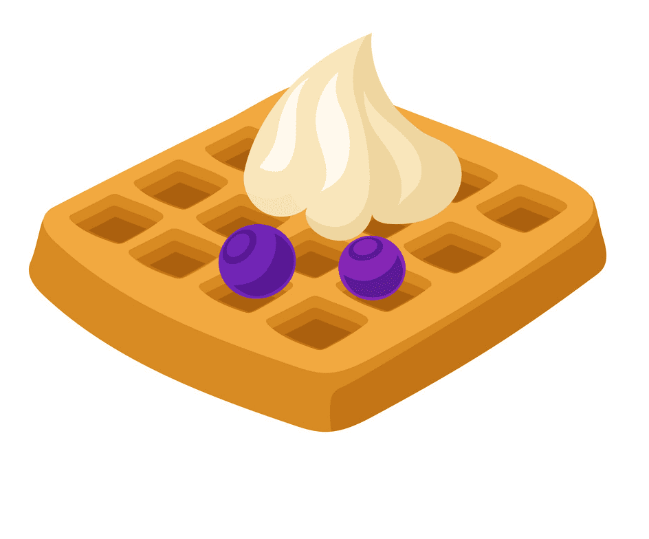 Waffle clipart png for kids