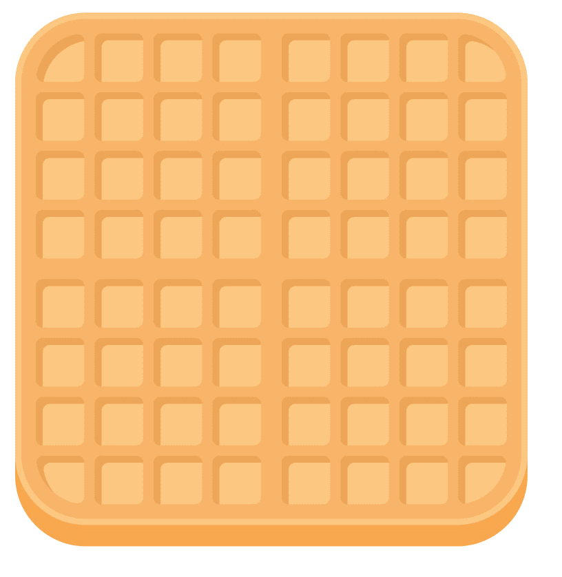 Waffle clipart png free