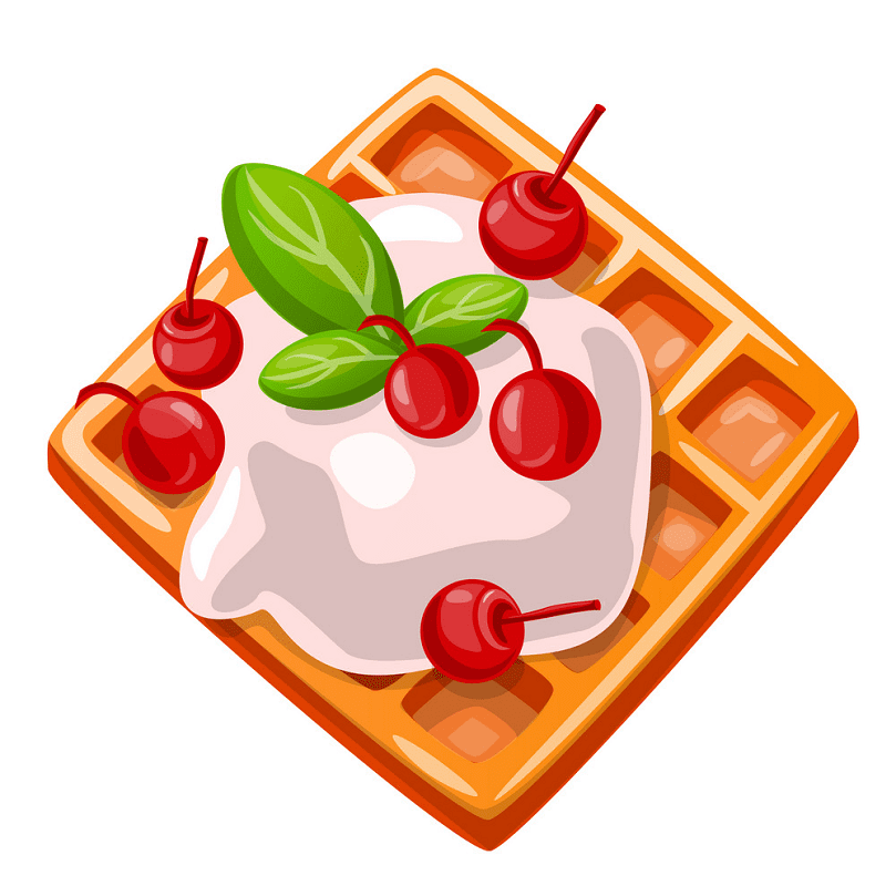 Waffle clipart png picture