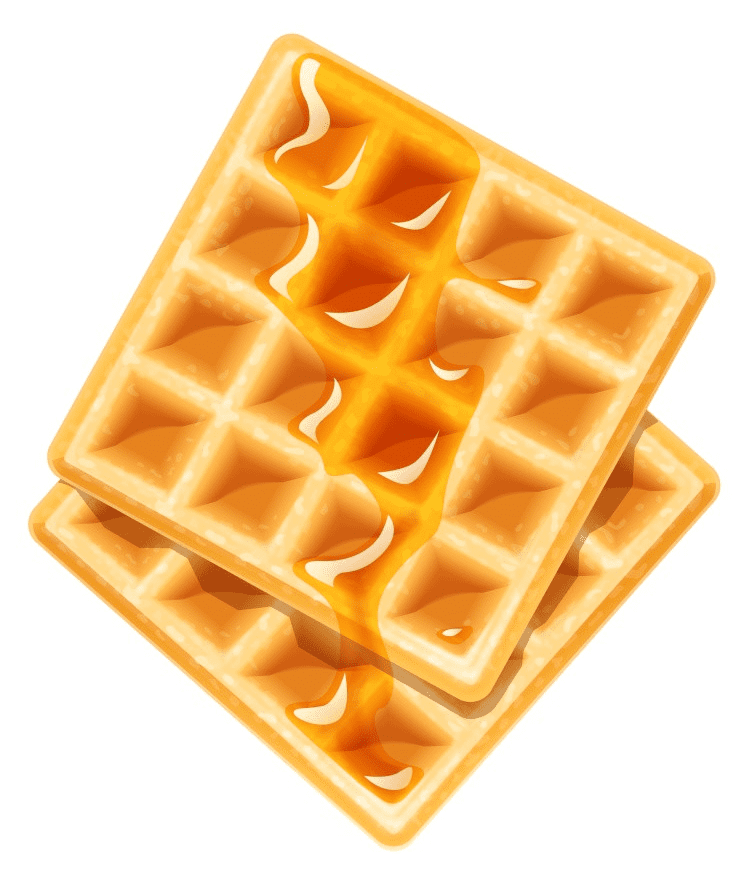 Waffle clipart png