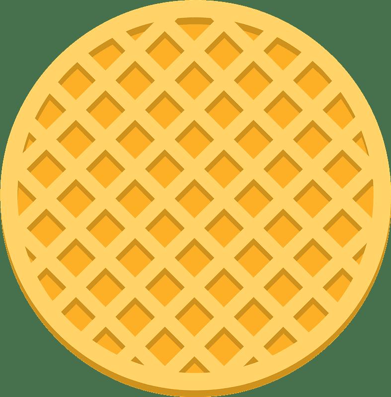 Waffle clipart transparent 2