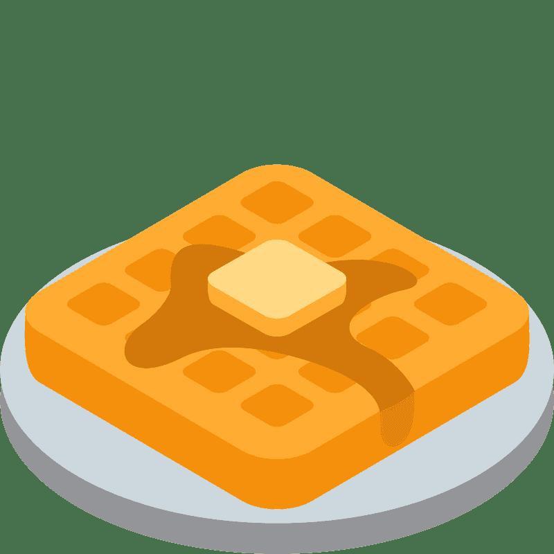 Waffle clipart transparent 6
