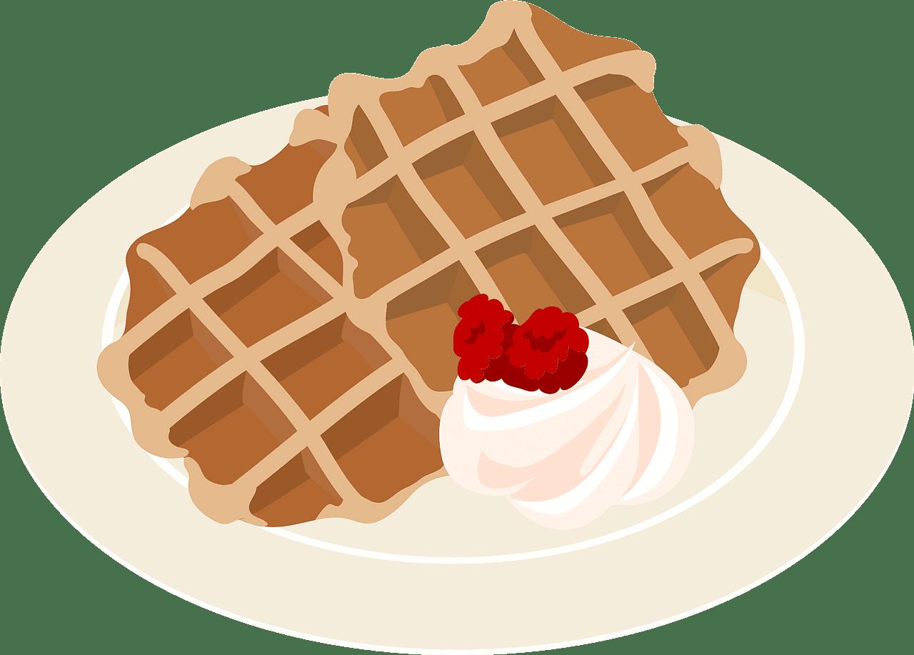Waffles clipart transparent 1