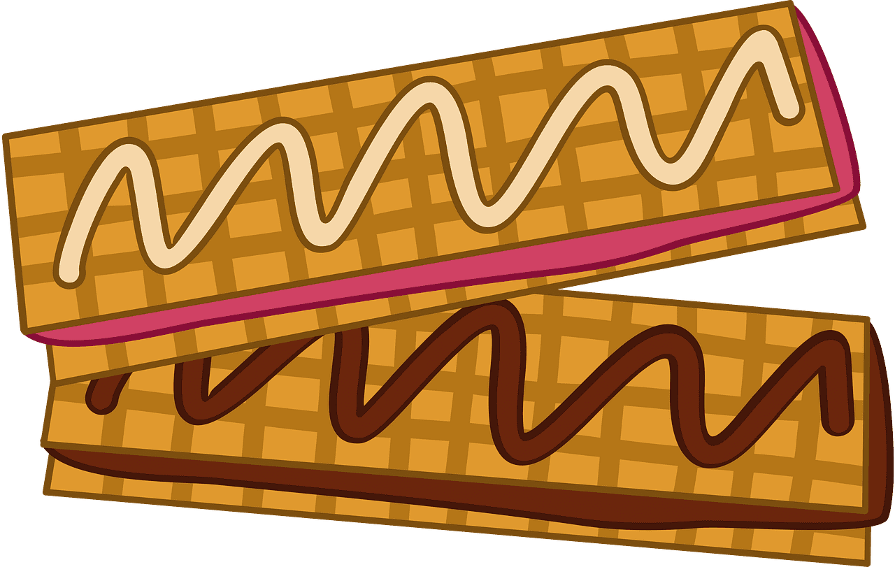 Waffles clipart transparent for free