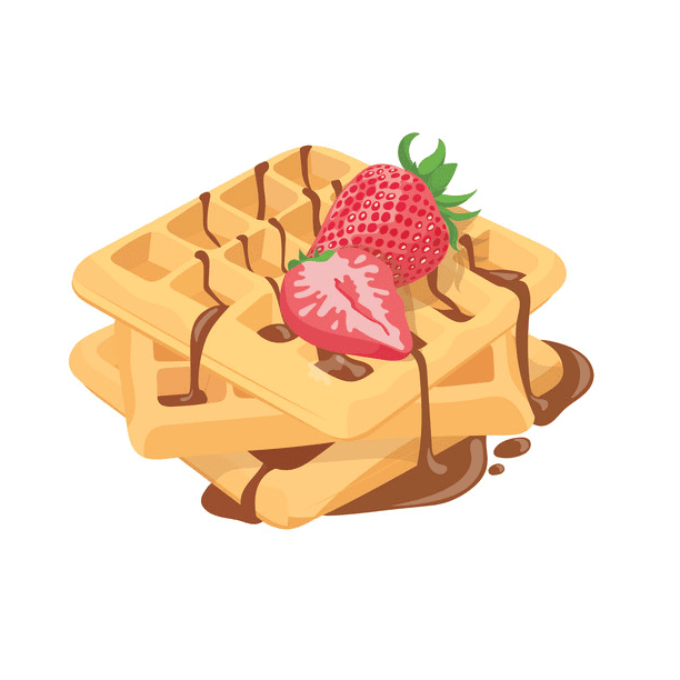 Waffles clipart