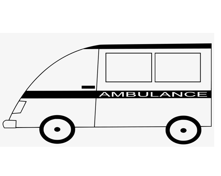 Ambulance clipart 1