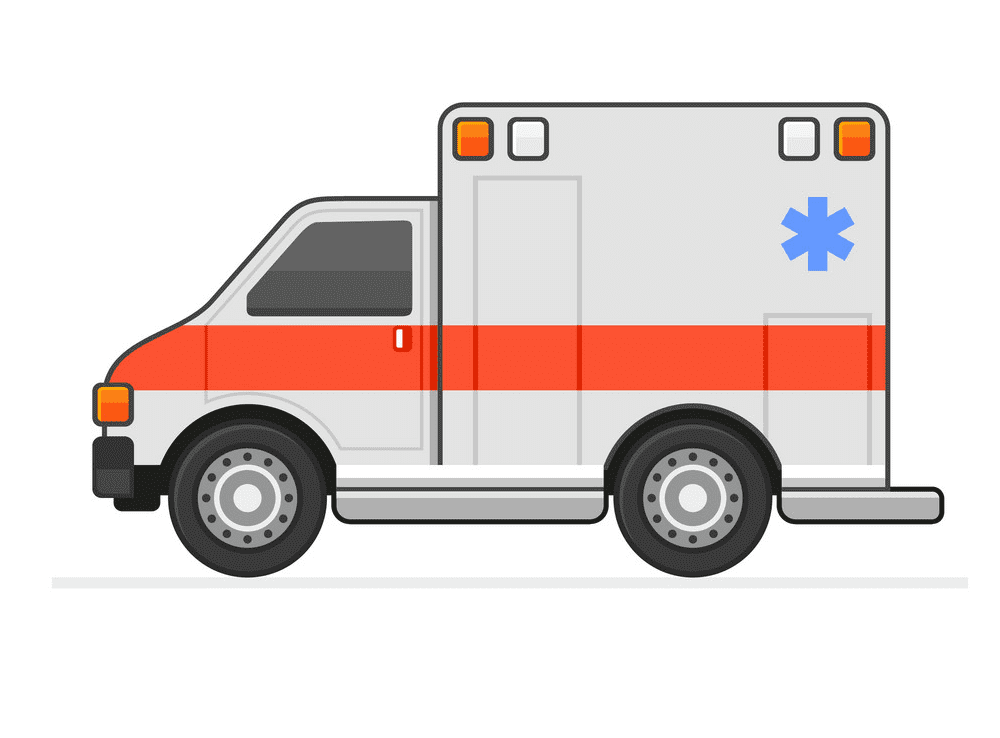 Ambulance clipart 10