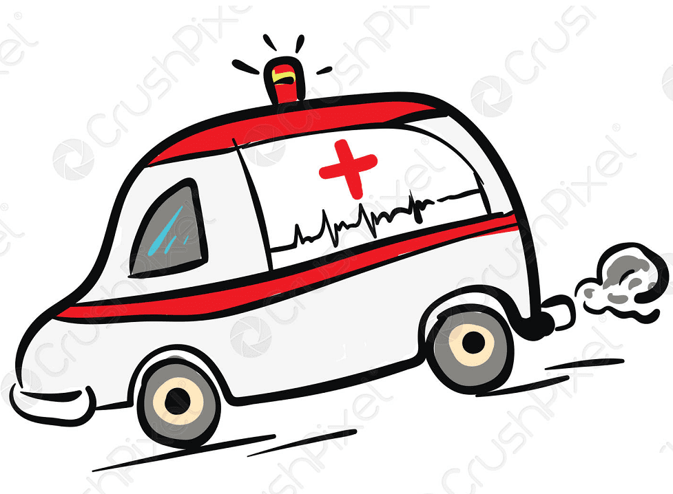 Ambulance clipart 2
