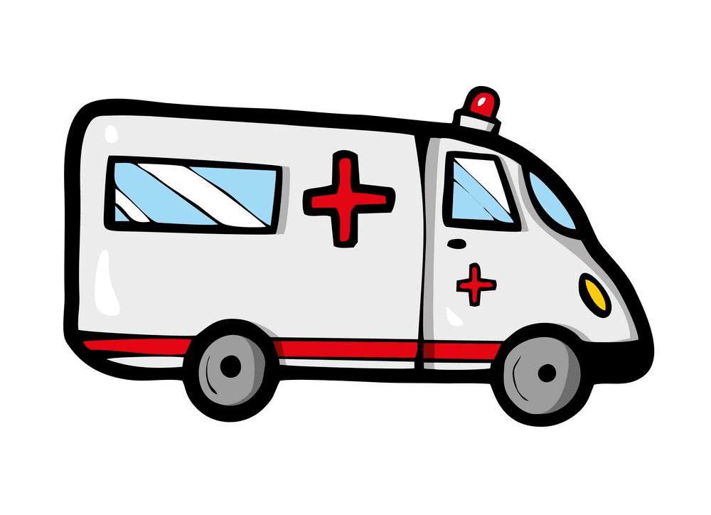 Ambulance clipart 3