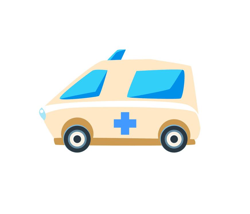 Ambulance clipart 6