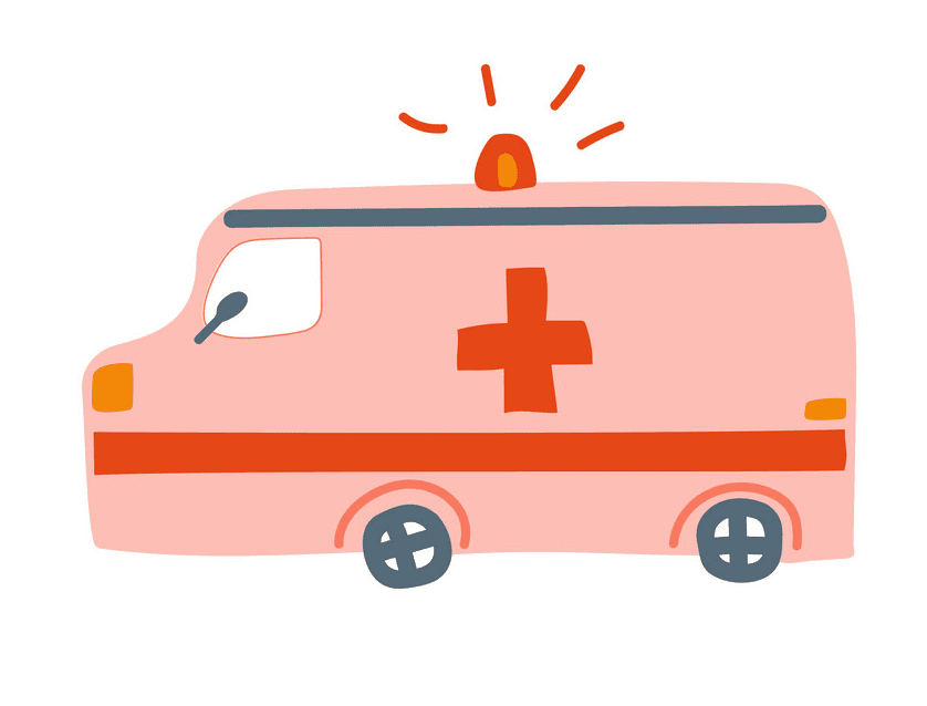 Ambulance clipart 8
