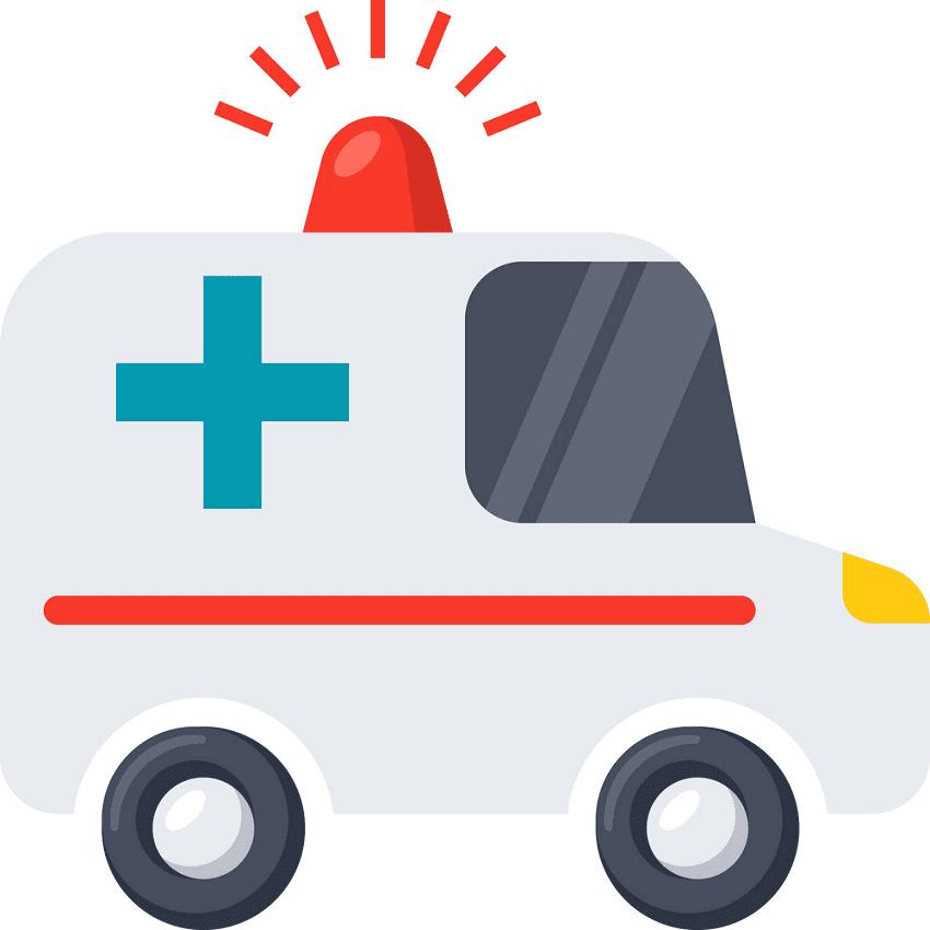Ambulance clipart 9