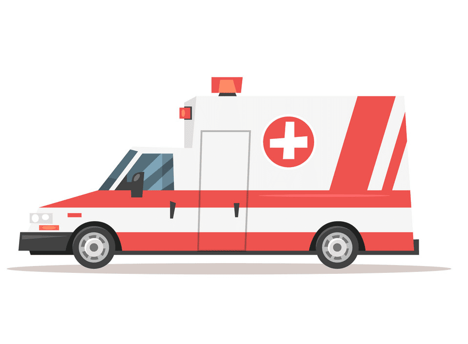 Ambulance clipart for kid