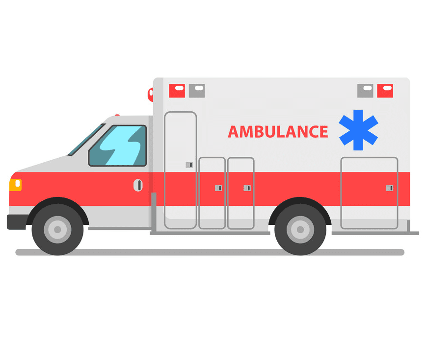 Ambulance clipart for kids