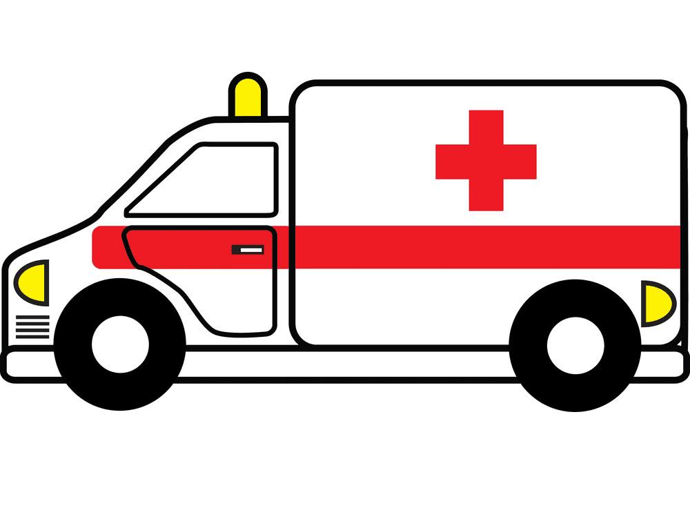 Ambulance clipart free