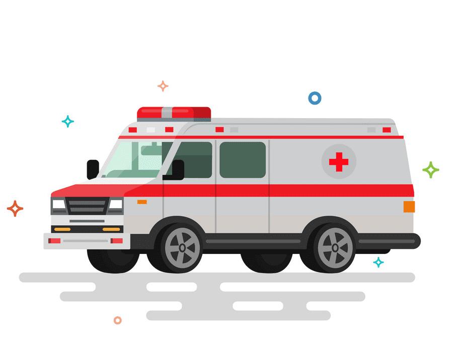 Ambulance clipart image