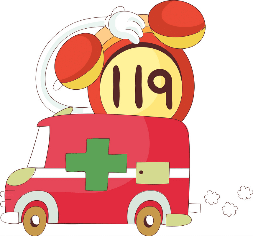 Ambulance clipart png 1