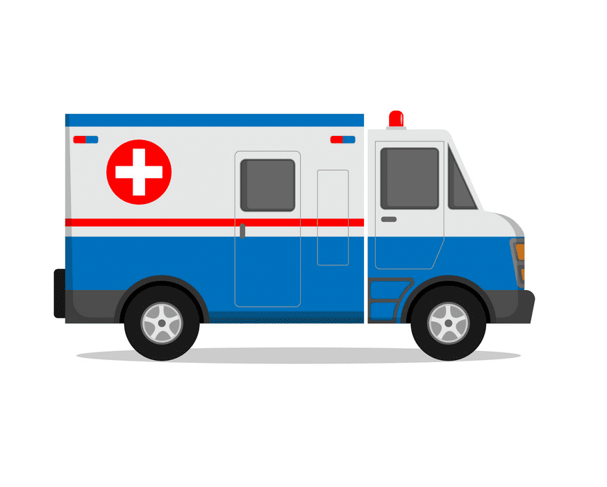 Ambulance clipart png for kid