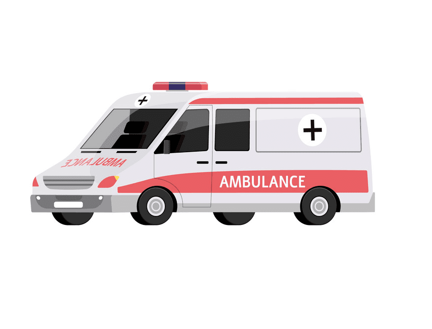 Ambulance clipart png for kids