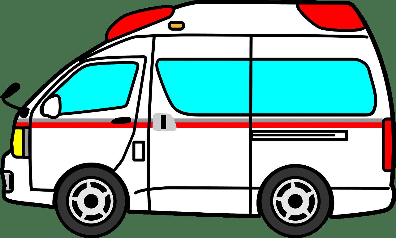 Ambulance clipart transparent 1