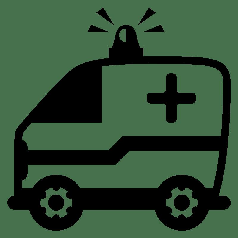 Ambulance clipart transparent 12