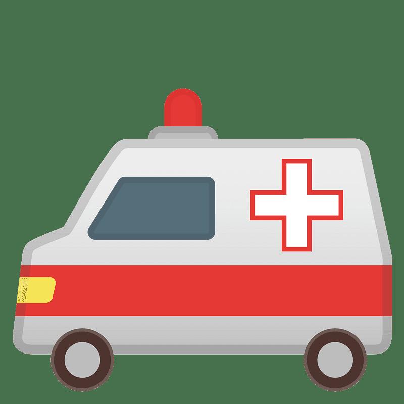 Ambulance clipart transparent 13