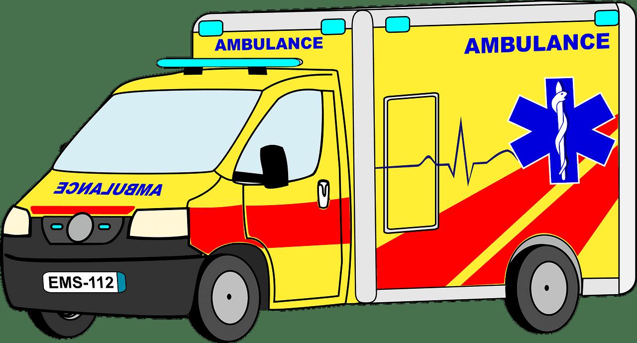 Ambulance clipart transparent 14