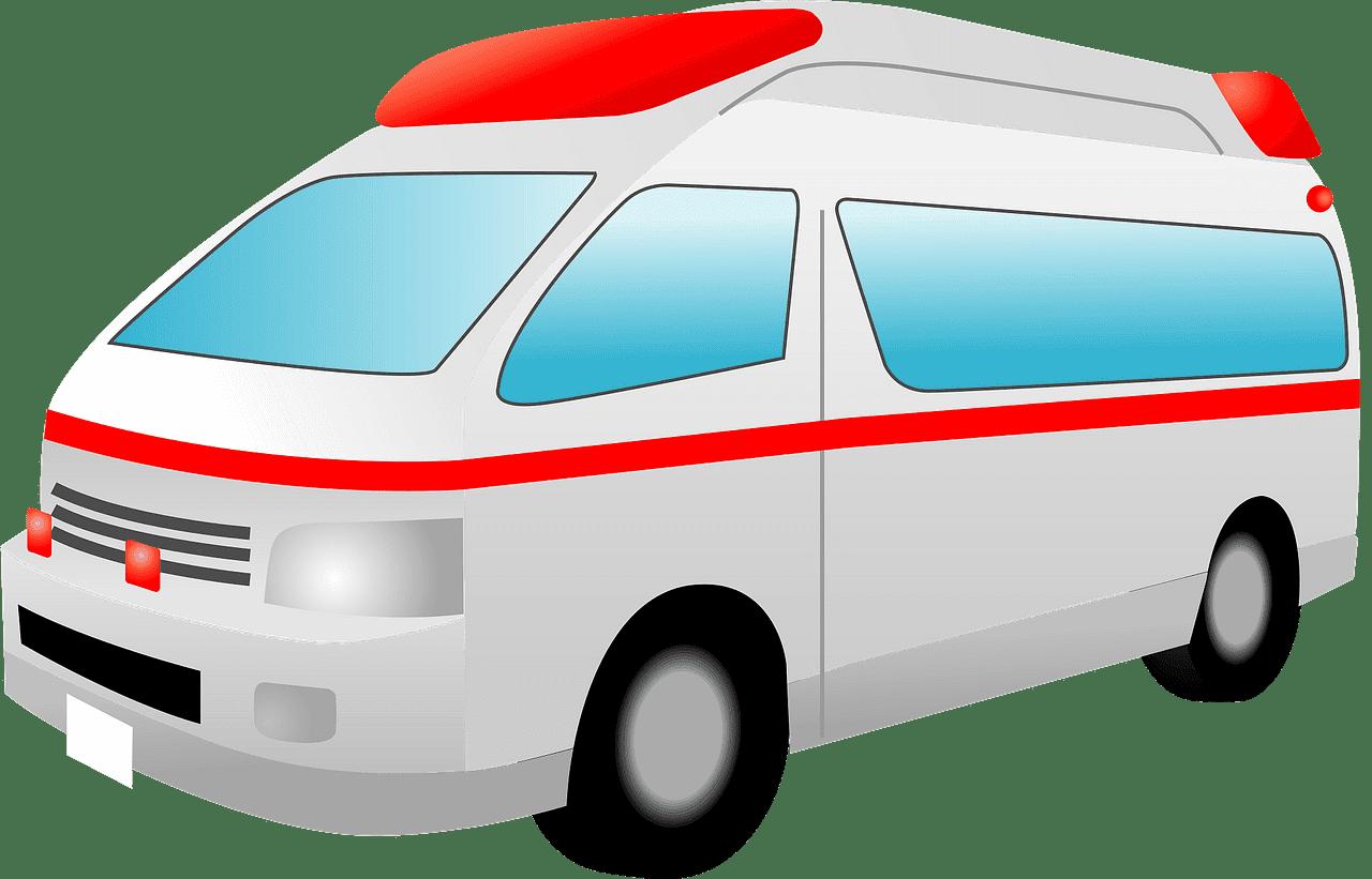 Ambulance clipart transparent 2