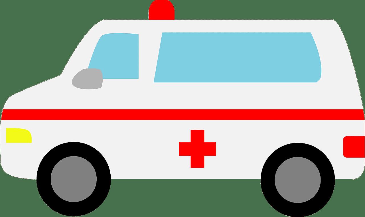 Ambulance clipart transparent 4
