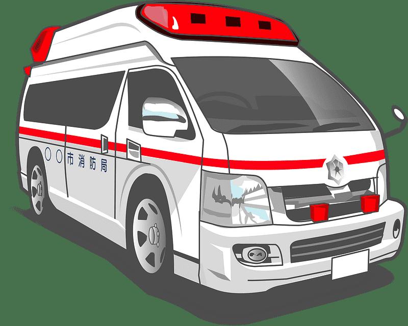 Ambulance clipart transparent 5