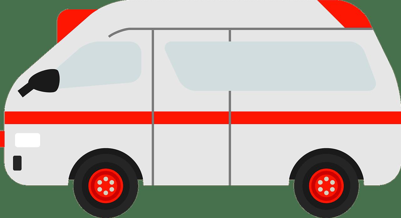 Ambulance clipart transparent 6