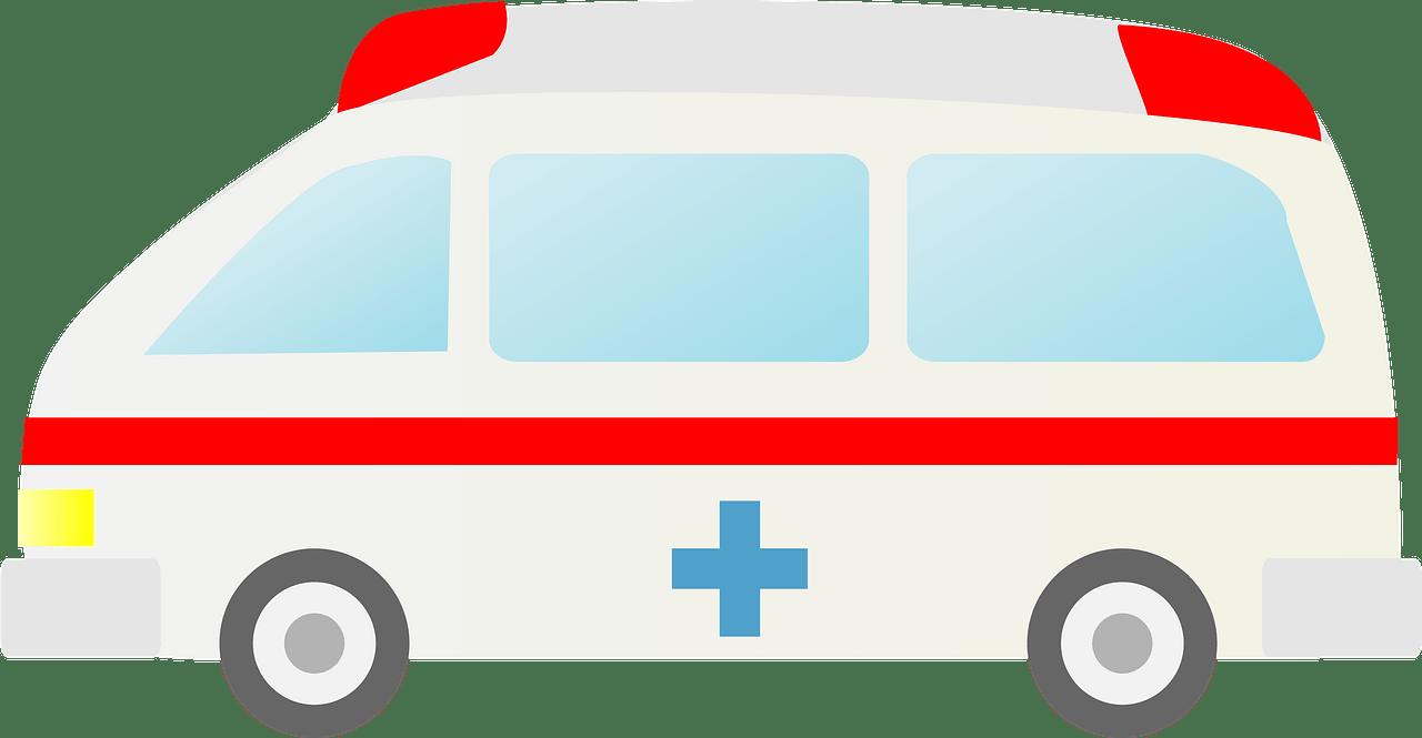 Ambulance clipart transparent 7