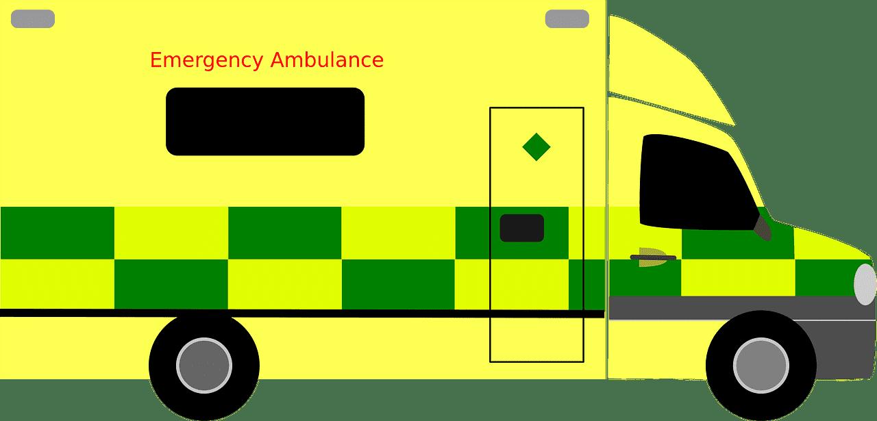 Ambulance clipart transparent 8