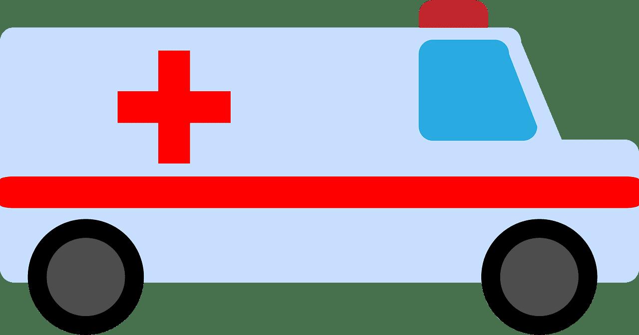 Ambulance clipart transparent 9